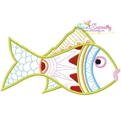 Magic Fish-07 Embroidery Design