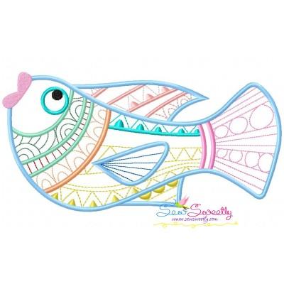 Magic Fish-06 Embroidery Design