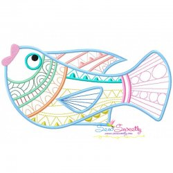 Magic Fish-06 Embroidery Design