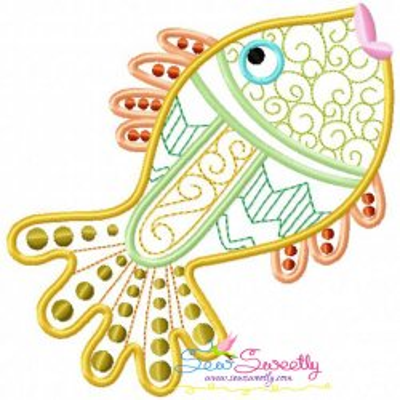 Magic Fish-03 Embroidery Design