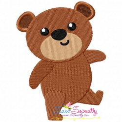 Free Bear Embroidery Design