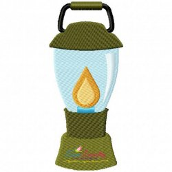 Lantern Machine Embroidery Design