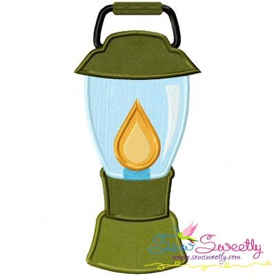 Lantern Machine Applique Design