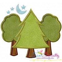 Trees Machine Applique Design