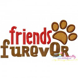 Friends Furever Applique Design