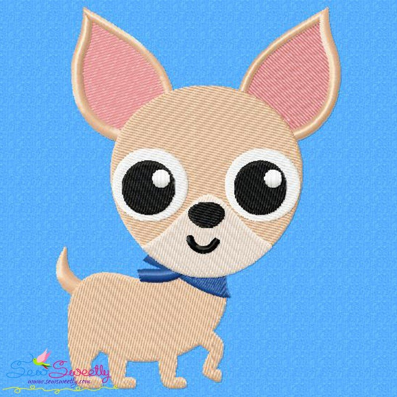 Chihuahua dog embroidery design Chihuahua dogs embroidery Machine Embroidery Pet Design House small dog Pattern Design Applique of dog