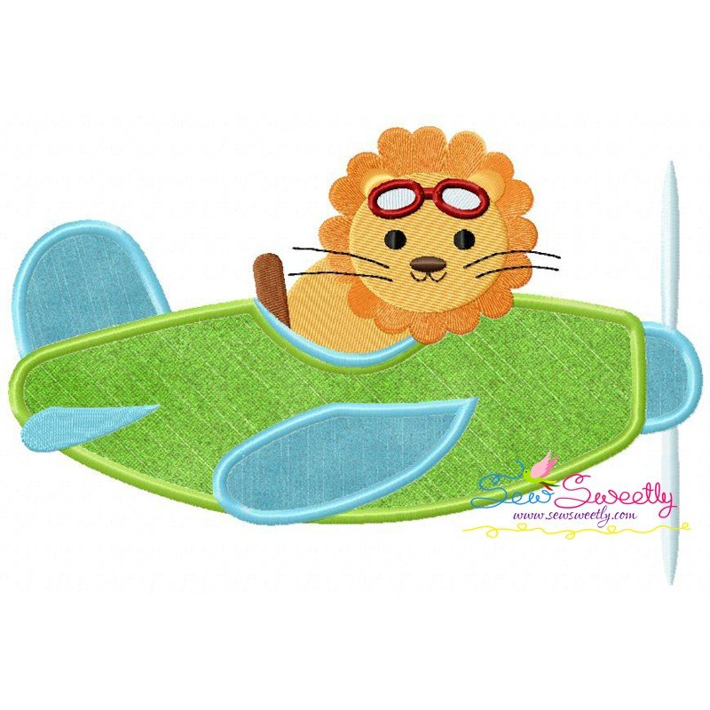 Cute Pilot Animals Embroidery Design Bundle For Kids And Animal Lovers