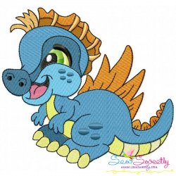 Baby Dinosaur-4 Embroidery Design