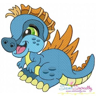 Baby Dinosaur-4 Embroidery Design