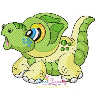 Baby Dinosaur-2 Embroidery Design