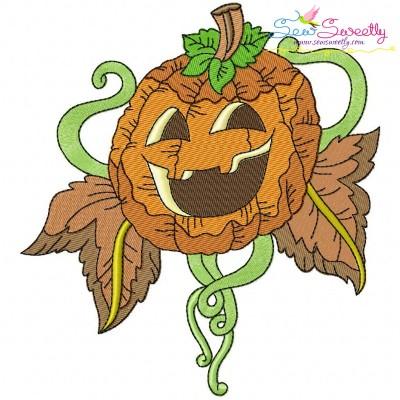 Halloween Pumpkin-9 Embroidery Design