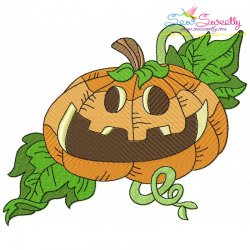 Halloween Pumpkin-7 Embroidery Design