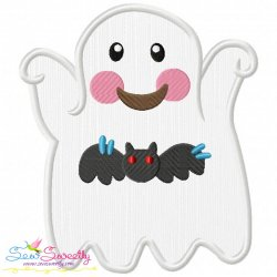 Little Ghost-9 Applique Design