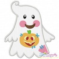 Little Ghost-5 Applique Design