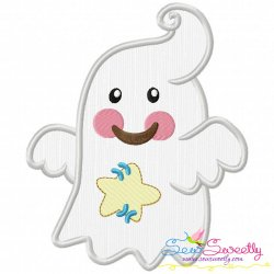 Little Ghost-2 Applique Design