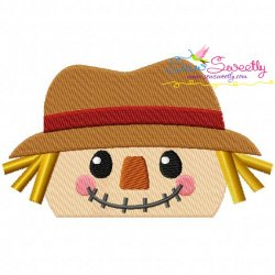 Scarecrow Topper Embroidery Design