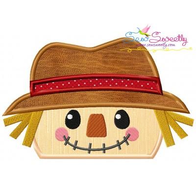 Scarecrow Topper Applique Design