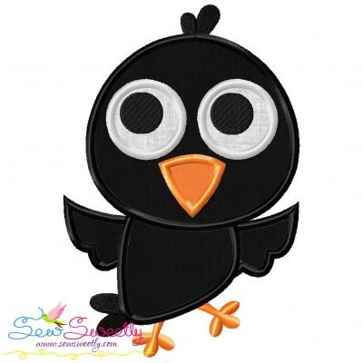 Crow Applique Design