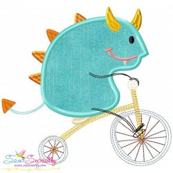 Halloween Bike- Monster-2 Applique Design
