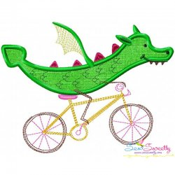 Halloween Bike- Dragon Applique Design
