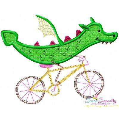Halloween Bike- Dragon Applique Design