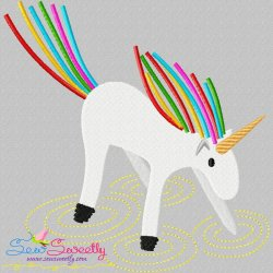 Artistic Unicorn-9 Embroidery Design