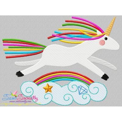 Artistic Unicorn-5 Embroidery Design