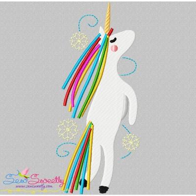 Artistic Unicorn-4 Embroidery Design
