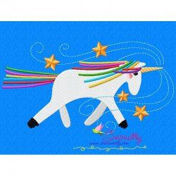 Artistic Unicorn-2 Embroidery Design