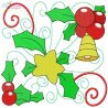 Christmas Block-6 Embroidery Design