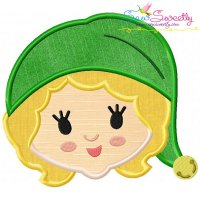 Jovie Head Applique Design