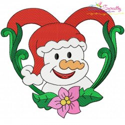 Christmas Frame-6 Embroidery Design