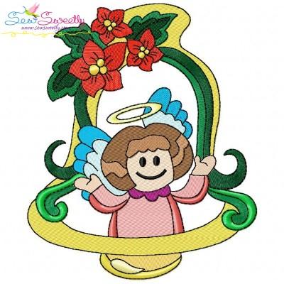 Christmas Frame-5 Embroidery Design
