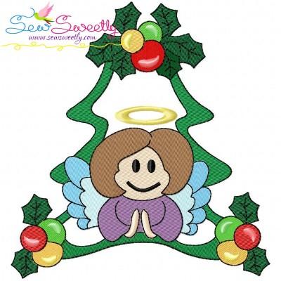 Christmas Frame-3 Embroidery Design
