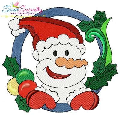 Christmas Frame-1 Embroidery Design