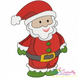 Christmas Santa Embroidery Design