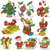 Christmas Embroidery Design Bundle-2