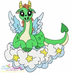 Baby Dragon-9 Embroidery Design