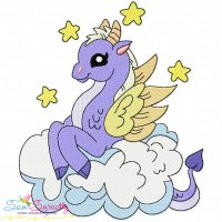 Baby Dragon-8 Embroidery Design