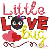 Little Love Bug Machine Embroidery Design