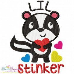Lil Stinker Machine Embroidery Design