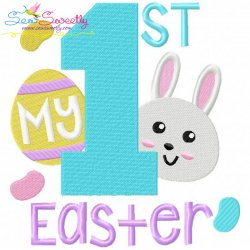 My 1st Easter Embroidery Design