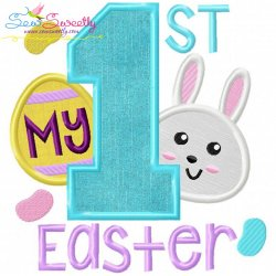 My 1st Easter Applique Design