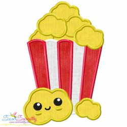Popcorn Applique Design