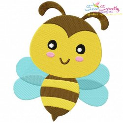Bee Machine Embroidery Design