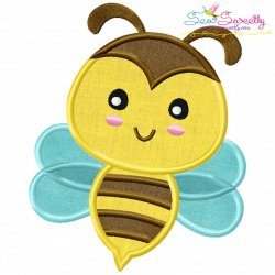 Bee Machine Applique Design