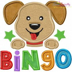 Bingo Nursery Rhyme Applique Design