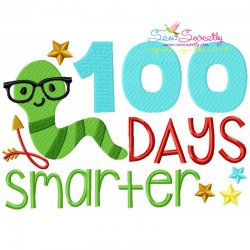100 Days Smarter Embroidery Design