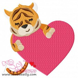 Safari Valentine-8 Embroidery Design