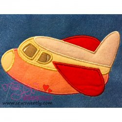 Airplane-3 Applique Design